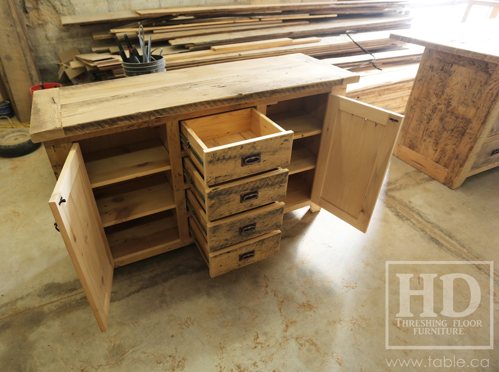 Unfinished Rustic Reclaimed Wood