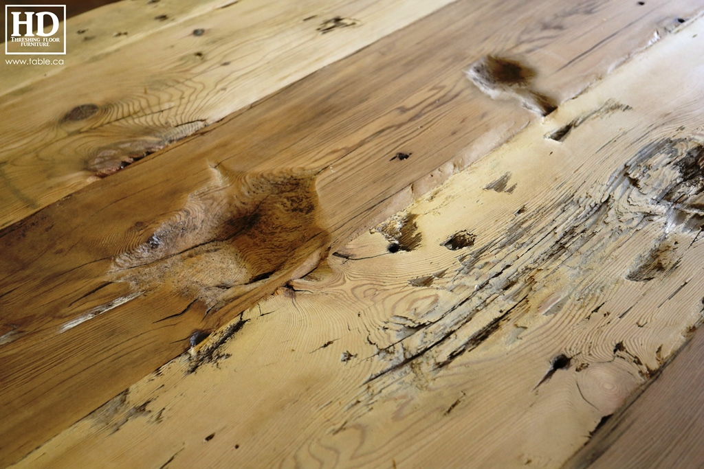 Reclaimed Wood Ontario Tables Furniture Threshing Floor