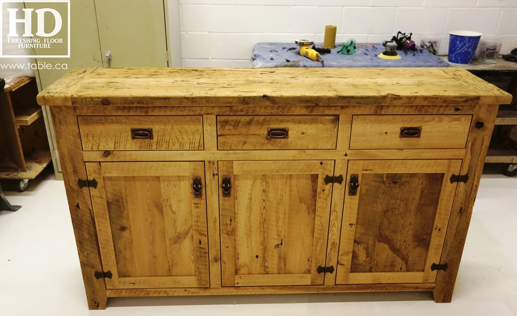 Credenza Console : Reclaimed wood buffet credenza console ontario gerald reinink