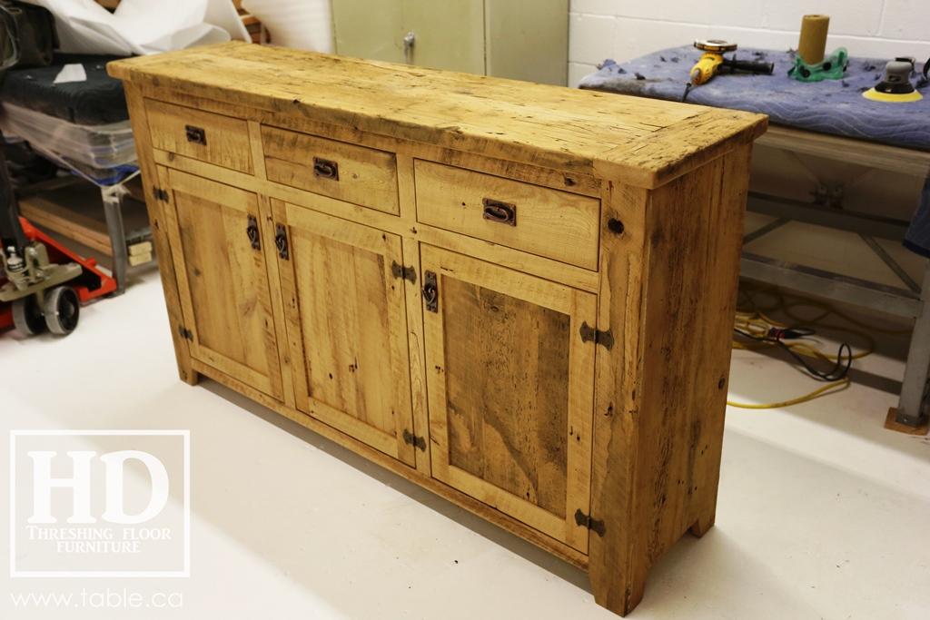 Credenza Console : Reclaimed wood buffet credenza console ontario gerald reinink 33