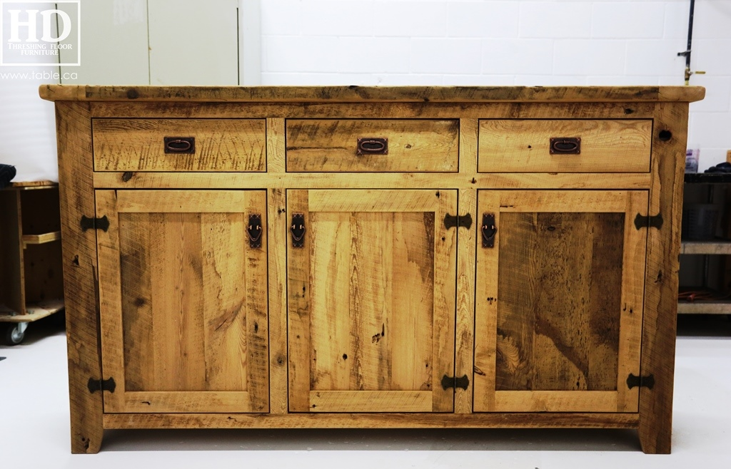 Credenza Console : Reclaimed wood buffet credenza console ontario gerald reinink 34