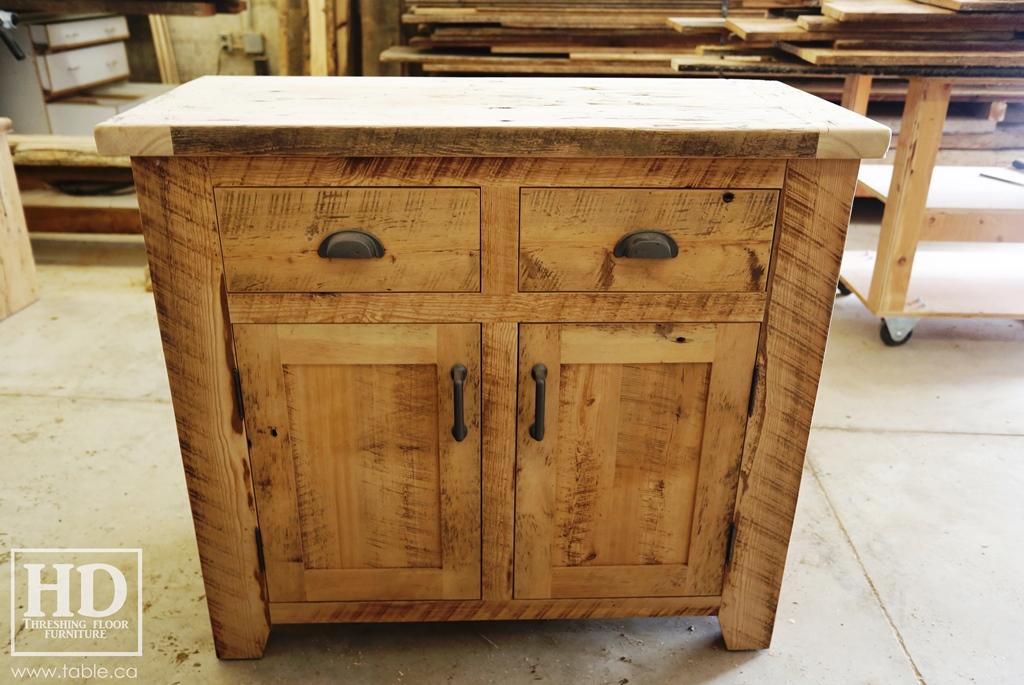 Credenza Console : Reclaimed wood buffet credenza console ontario gerald reinink 69