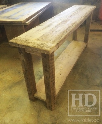 finish with modern ivory reclaimed table of wood console awesome two in