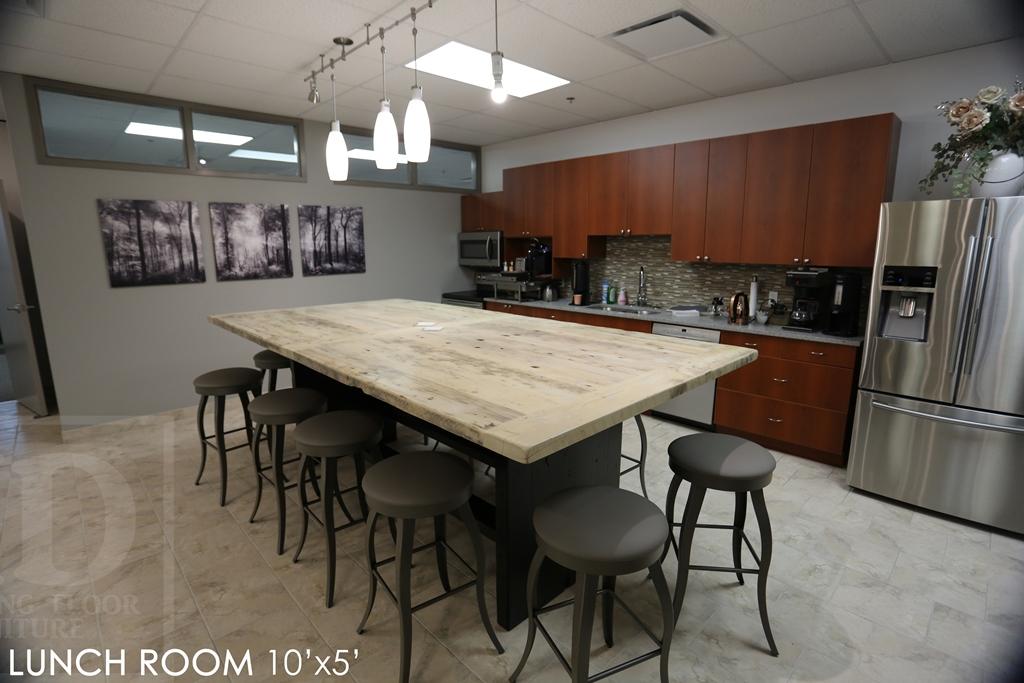 Swell Reclaimed Wood Lunchroom Table Cambridge Ontario Mennonite Download Free Architecture Designs Scobabritishbridgeorg