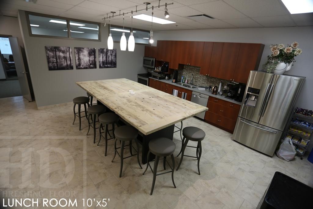 Peachy Reclaimed Wood Lunchroom Table Cambridge Ontario Mennonite Download Free Architecture Designs Scobabritishbridgeorg