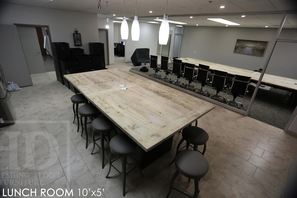 Fantastic Reclaimed Wood Lunchroom Table Cambridge Ontario Mennonite Download Free Architecture Designs Scobabritishbridgeorg