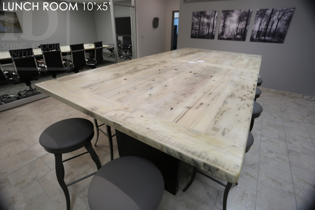 Fabulous Reclaimed Wood Lunchroom Table Cambridge Ontario Mennonite Download Free Architecture Designs Scobabritishbridgeorg