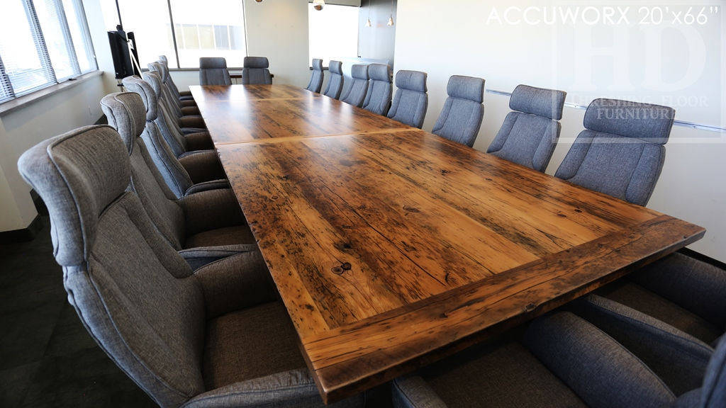 reclaimed wood tables Mississauga, boardroom table Mississauga, epoxy finish, recycled wood furniture, solid wood furniture, Mennonite Furniture Mississauga, conference room table Ontario, large boardroom tables Ontario, distressed, rustic, rustic wood table