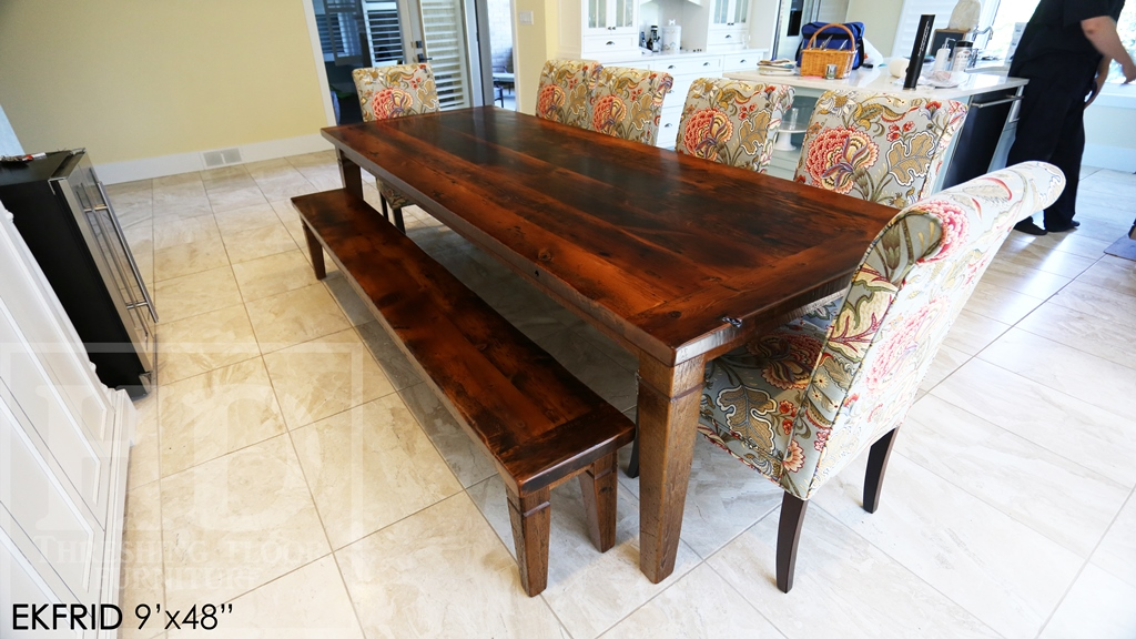 harvest table London Ontario, tables London, reclaimed wood tables Ontario, cottage furniture Ontario, reclaimed wood bench, custom tables Ontario