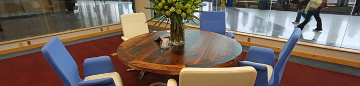 Reclaimed Wood Furniture - Round Tables