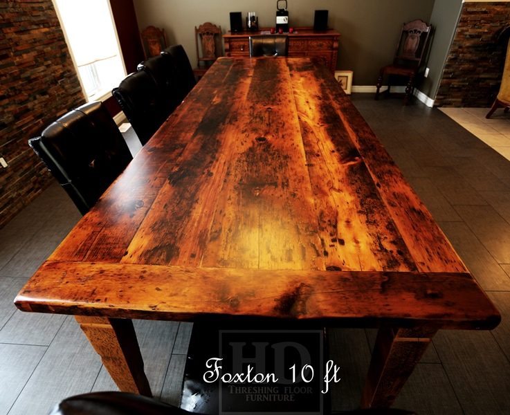 Charming ... Harvest Tables Reclaimed Wood Furniture By HD Threshing Floor Furniture  ...