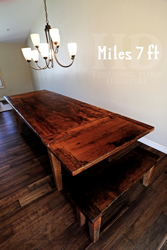 Great ... Harvest Tables Reclaimed Wood Furniture By HD Threshing Floor Furniture  ...