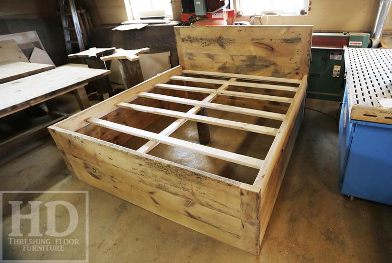927dea80f58 ... Custom Reclaimed Wood Beds Ontario Barnwood ...