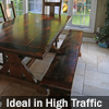 Reclaimed Wood Dining Sets