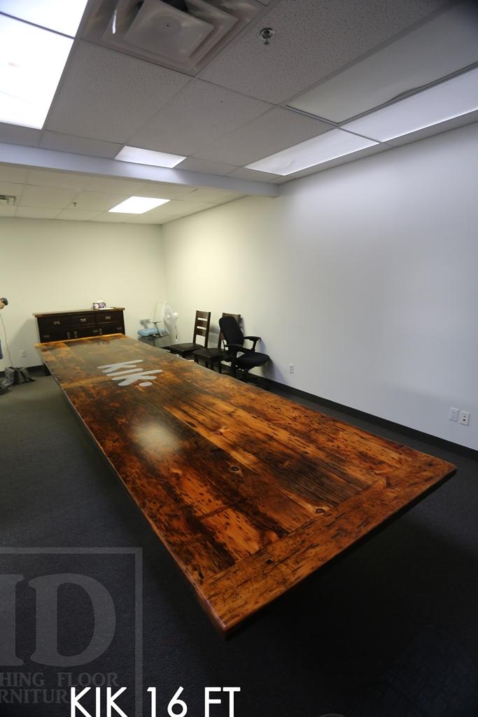 Custom Reclaimed Wood Boardroom Tables Hd Threshing