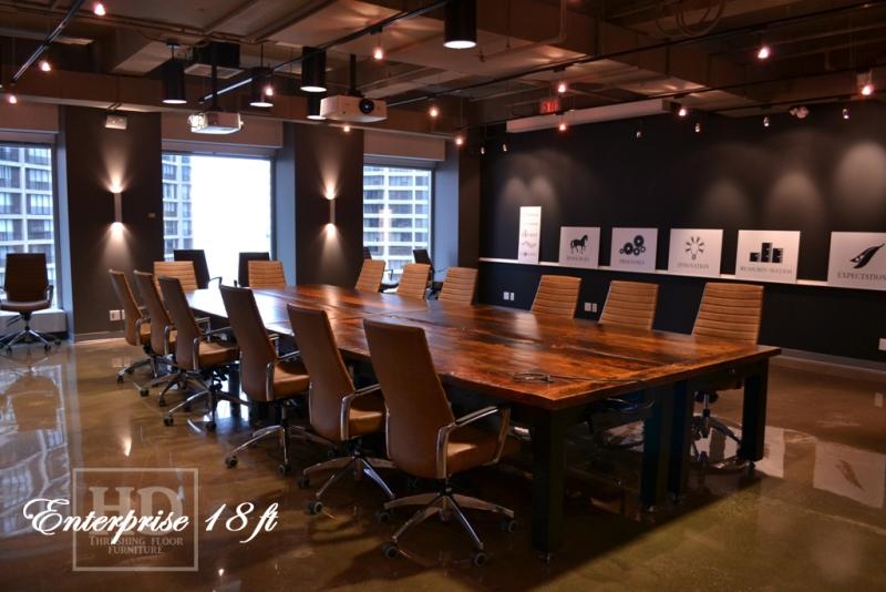 Custom Reclaimed Wood Boardroom Tables HD Threshing Floor Furniture - Wooden boardroom table