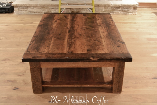 Rustic coffee tables reclaimed wood coffee tables for Reclaimed wood table designs