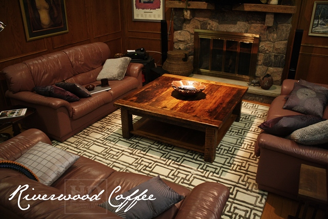 Reclaimed Wood Coffee Table ...