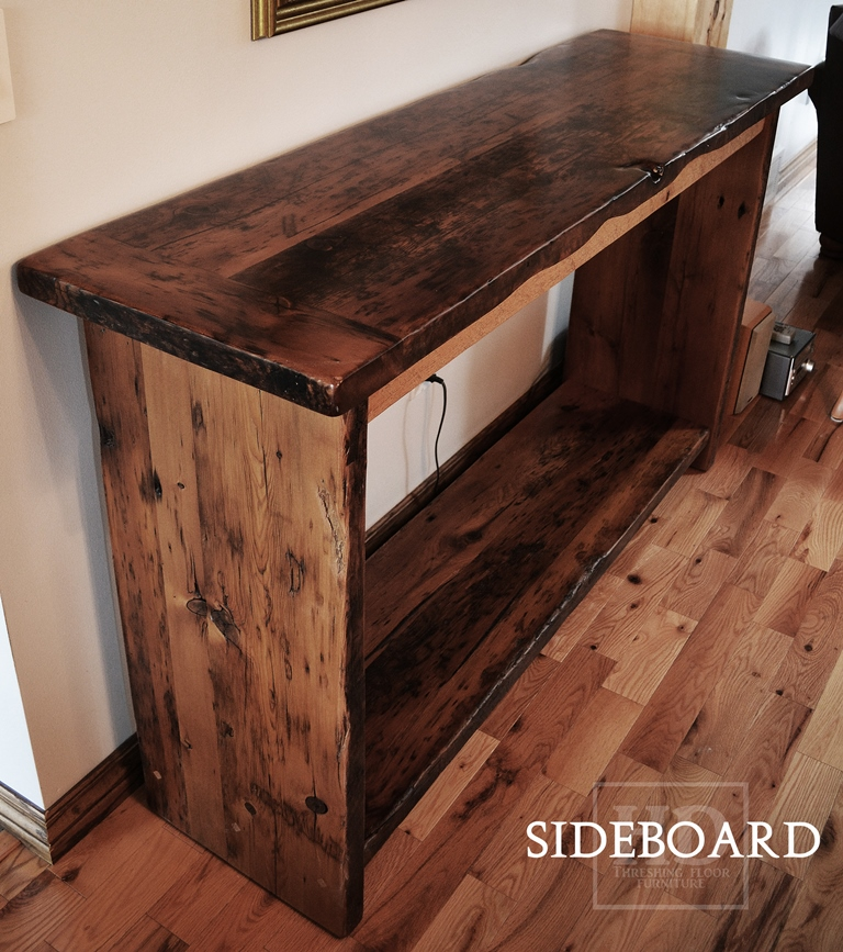 reclaimed wood console table reclaimed wood console table