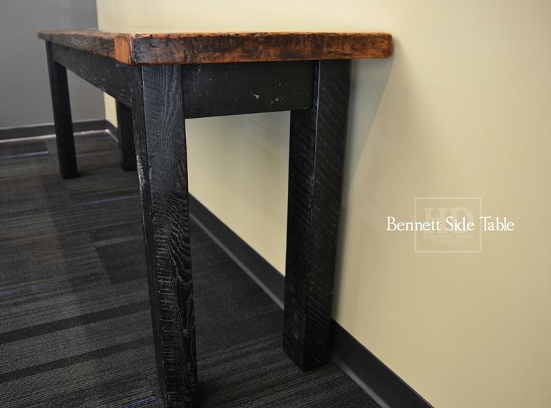 Reclaimed Wood Furniture Side Tables Hd Threshing