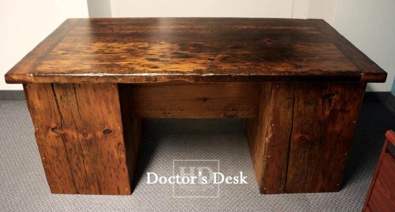Reclaimed Wood Desks tario