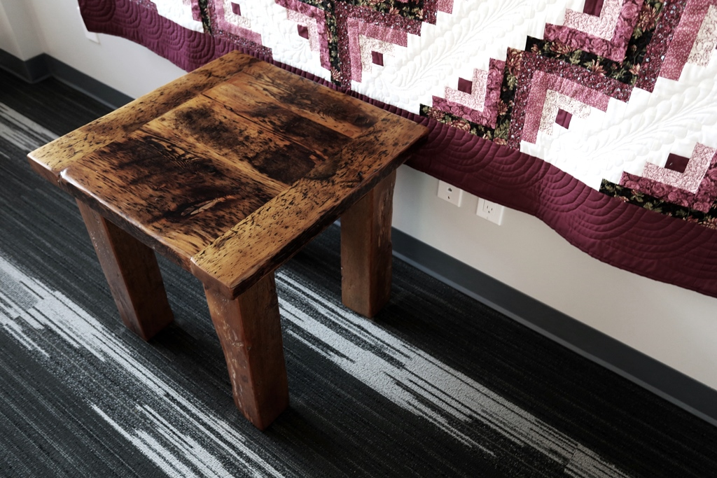 Customizable Hand Made Reclaimed Wood End Tables