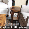 Customizable Hand-Made Reclaimed Wood End Tables