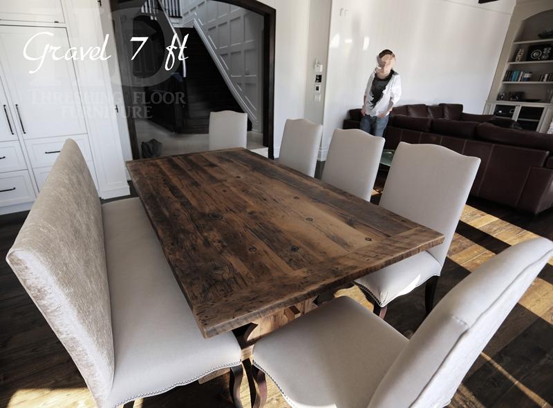 Reclaimed Wood Furniture Greytone Treatment HD Threshing : Trestle20Table20Violin20base20Greytone20Barnwood20Mennonite20Built202 from www.hdthreshing.com size 800 x 591 jpeg 179kB