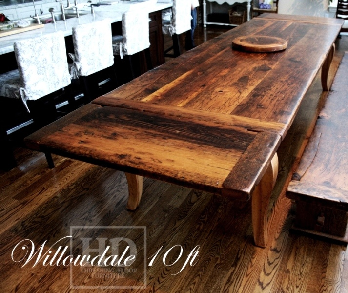 Harvest Table Ontario Dining Reclaimed