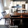 Reclaimed Wood Harvest Table, Orendo