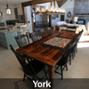Harvest Tables salvaged from old wood in Ontario pioneer barns by HD Threshing Floor Furniture