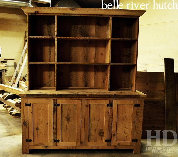 ... Custom Built Reclaimed Wood Hutches ... - Reclaimed Wood Dining Room & Kitchen Hutches HD Threshing