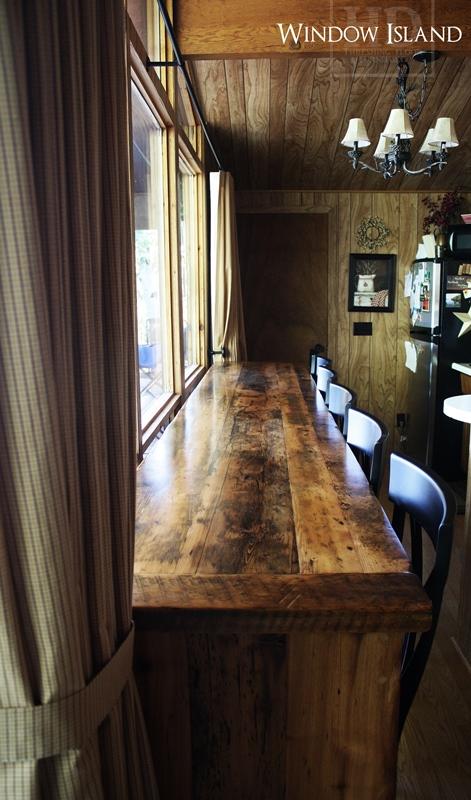 Reclaimed Wood Kitchen Island Hd Threshing Floor Furniture