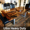 Reclaimed Metal Base Tables