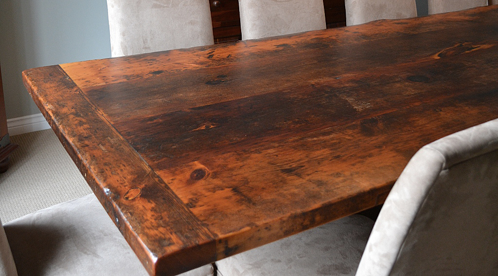 Reclaimed Wood Furniture | Premium Epoxy | HD Threshing