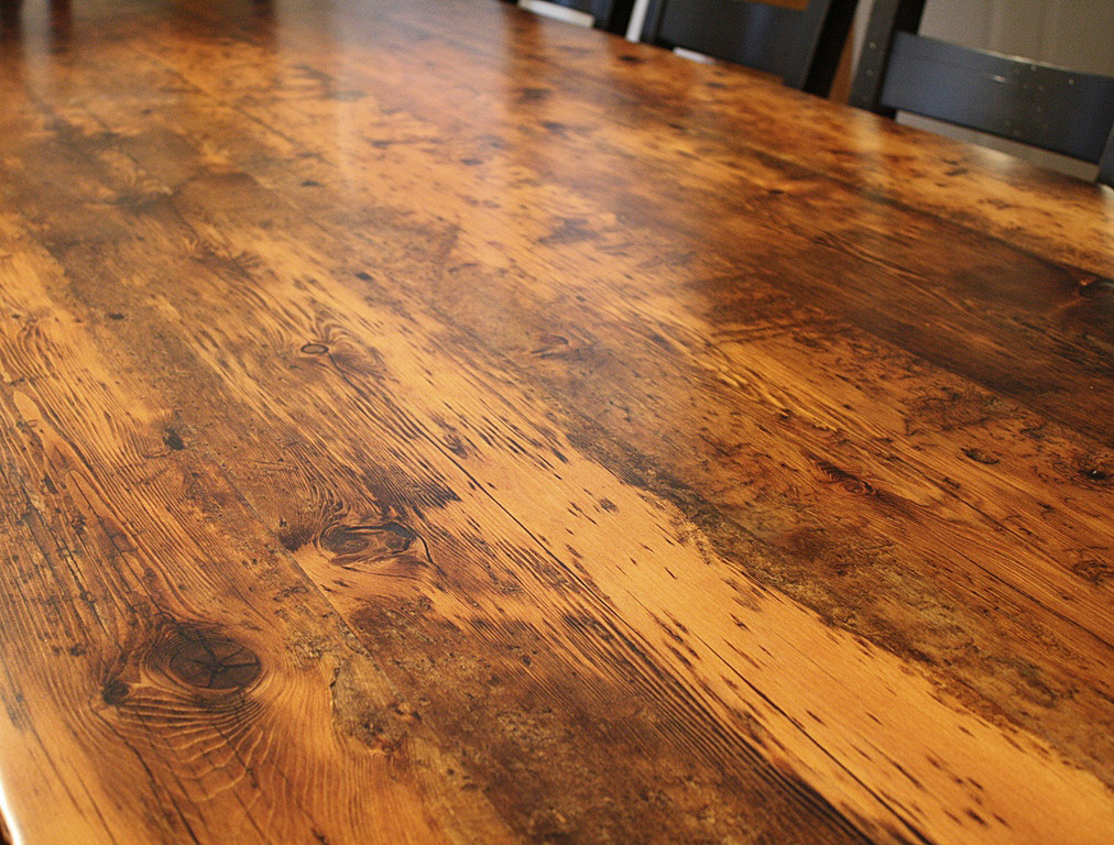 Reclaimed Wood Furniture | Premium Epoxy | HD Threshing