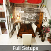 Reclaimed Wood Tables and Furniture Showroom
