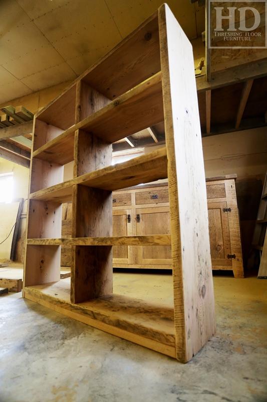Reclaimed Wood Furniture | Shelving | HD Threshing