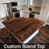 Reclaimed Wood Island Top Georgetown