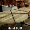Handmade reclaimed wood custom top