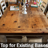 Threshing Floor Reclaimed Wood Top