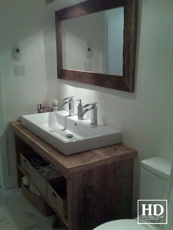 Custom Bathroom Vanities Saskatoon reclaimed wood furniture | vanities | hd threshing